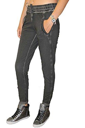 Pantalone Donna Deha B42256 10009 Nero, XS MainApps