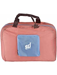 Smiledrive Foldable Travel Duffel Bag Portable Luggage Sports Gym Water Tote Handbag–Water Resistant