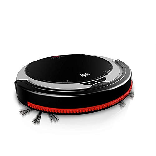 Dirt Devil M613 Staubsauger Roboter,beutellos 0.24l, schwarz, rot