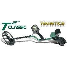 Detector de metales Teknetics T2 Classic placa 11 DD metaldetector Oro Monedas ·