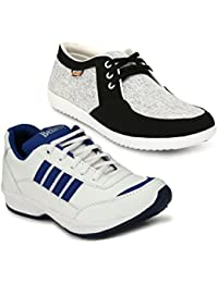Trendy, Mens Running Shoes Unique Design And Lace Up Style: Walk With Trendy And Stylish Running Shoes(Aerobic...