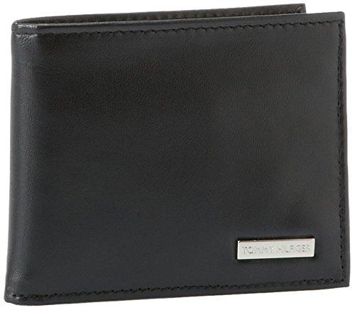 Tommy Hilfiger Men's Multi-Portemonnaie, Schwarz - Schwarz - Größe: One Size (Tommy Hilfiger Geldbörse Herren Slim)