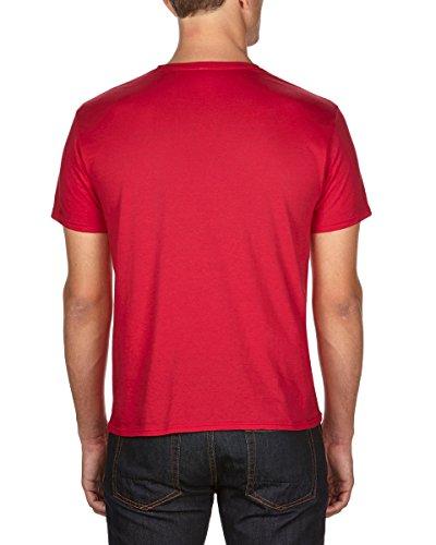 Anvil Herren T-Shirt Rot