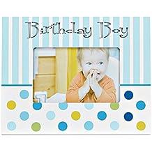 Bargain Balloons Babyflasche mit Schriftzug Its a Boy und Sternen hellblau 126364