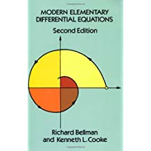 Modern Elementary Differential Equations: Second Edition (Dover Books on Mathematics)