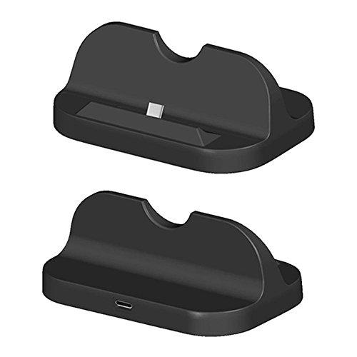 Preisvergleich Produktbild Kobwa Ladestation für Nintendo Switch, 2 in 1 USB Typ C Ladestation Station Cradle Stand für Nintendo Switch