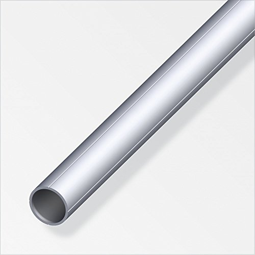 Rundrohr 15,5x1,5mm 1m Aluminium blank