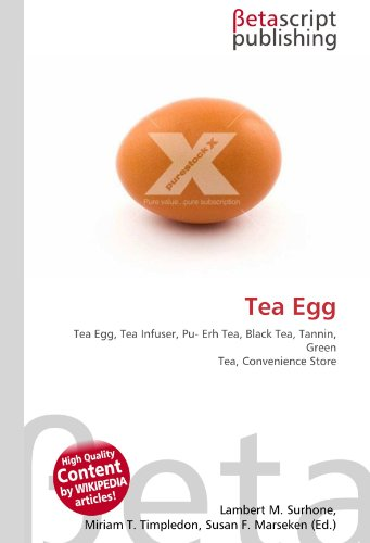 Tea Egg: Tea Egg, Tea Infuser, Pu- Erh Tea, Black Tea, Tannin, Green Tea, Convenience Store