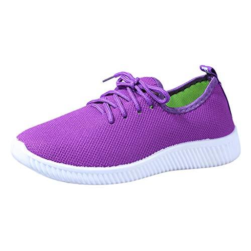 Lässige Essex Short (LILIHOT Frauen Arbeiten Schuhe Feste Runde Breathable Müßiggänger Weiche Freizeit Flache Laufende Schuhe Damen Sportschuhe Laufschuhe Mode Turnschuhe Freizeitschuhe)
