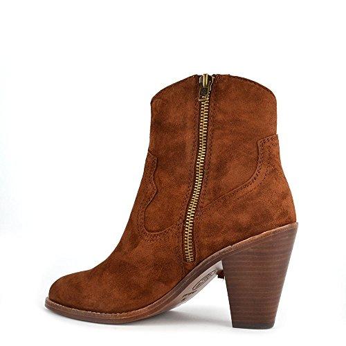 Ash Footwear Stella Sigaro 'Brown' Suede Tassel Ankle Boot Sigaro