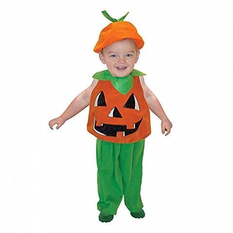 Deux Costume Visage Veste - Déguisement enfant Tabard Citrouille taille 2-3