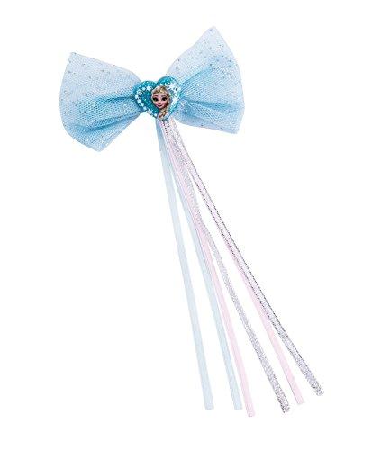SIX Kids Disney Frozen Haarspange mit Schleife, Karneval, Kostüm, Eisprinzessin ()