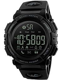 Yesmile Relojes ❤ Reloj Electrónico de Silicona Hombres de Lujo Analógico Militar Digital Deporte LED Impermeable Reloj de…