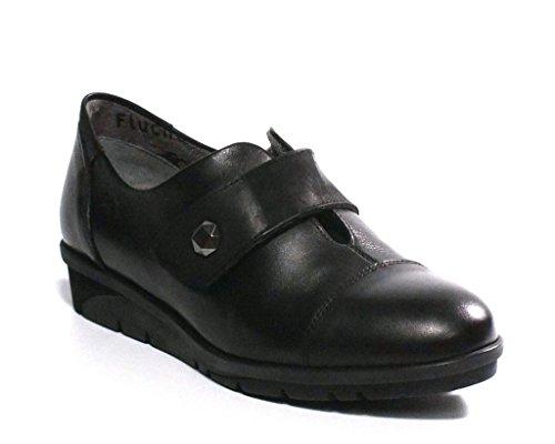 Fluchos-Zapato-Velcro-9642-Negro