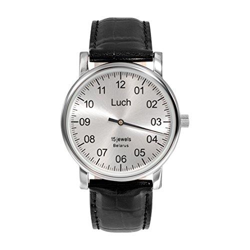 Luch Single Hand Mechanische Armbanduhr 37471762