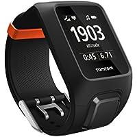TomTom Adventurer Multisport-GPS-Uhr, mit eingebautem Herzfrequenzmesser, Musikplayer, Höhenmesser, Kompass, schwarz