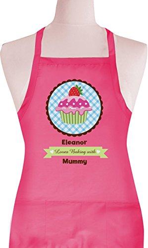 Personalised Cupcake alla Fragola per bambini grembiule