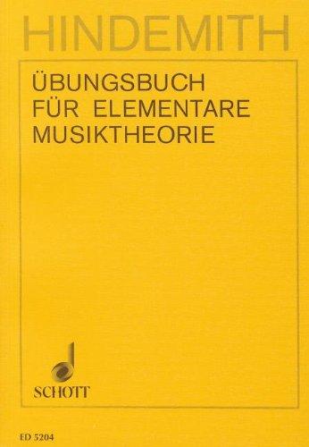 Übungsbuch für elementare Musiktheorie