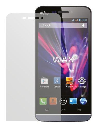 dipos I 2X Schutzfolie matt passend für Wiko Wax Folie Bildschirmschutzfolie