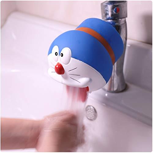 Wasserhahn Extender, Animal Extender für Wasserhähne, Sink Handle Extender für Kleinkinder, Kinder, Baby(Roboter-Katze)