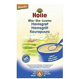 Holle Organic Baby Porridges – Rolled Oats Porridge – Single Carton, 250g