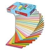 Ramette de 500 feuilles papier couleur ADAGIO 80g A4 gris