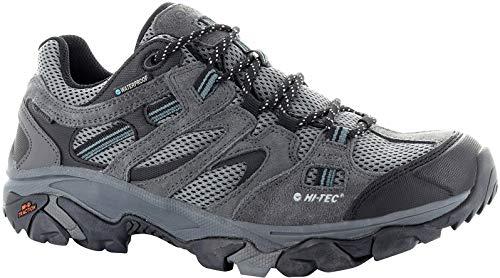Hi-Tec Ravus Vent Low WP Shoes Men Charcoal/Cool Grey/Black Schuhgröße EU 45 2019 Schuhe -