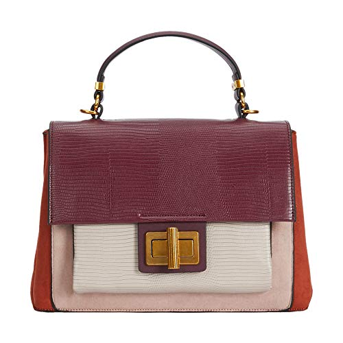 Parfois - Bolso Tote Remix - Mujeres - Tallas M - Burgundy