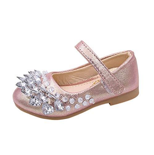 8fe0014d9df61 ♬GongzhuMM Sandales Fille Bébé 21-30 Chaussures de Fille Strass Été  Chaussures Plates Fille