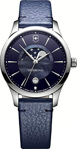 Victorinox Damen Analog Quarz Uhr mit Leder Armband 241794 (Victorinox Watch Womens)
