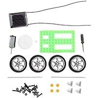 Comparador de precios Delicacydex 1 Unids Niños Puzzle Educativo IQ Gadget Mini Juguete Solar DIY Car Hobby Robot Mejor Regalo de Cumpleaños para Niños Niños Verde - precios baratos