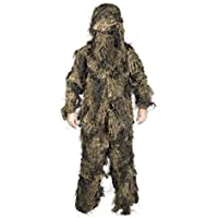 BUNDESWEHR GHILLIE SUIT NEU BW TARNANZUG ANTI FIRE WOODLAND 3D PAINTBALL US ARMY