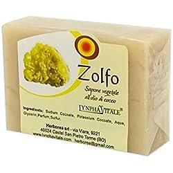 Jabón de Azufre Artesanal - No contienen colorantes, conservantes químicos, tensioactivos y parabenos - 100% natural