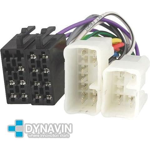 ISO-TOY.01 - Conector iso universal para instalar radios en Toyota, Lexus, Daihatsu.