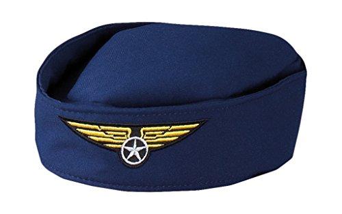 hsenenhut Stewardess, Einheitsgröße, dunkelblau ()