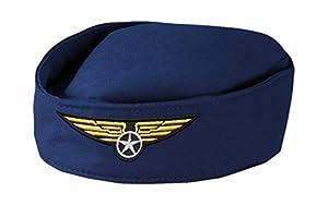 Boland 01356 - adultos sombrero de azafata, tamaño de la unidad, de color azul oscuro