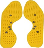 """Acupressure n Magnetic Shoe Sole-Insole Useful for Heel Pain - Knee Pain - Leg Pain - Sciatica - Cramps - Migraine - Tonsils - Depression With SuJok Ring & Reflexology Chart For Hand n Feet BY ESCOR Byzantine International Private Limited -- """"Super INDIA Store"""""""