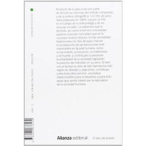 Los ritos de paso (El Libro De Bolsillo - Ciencias Sociales)