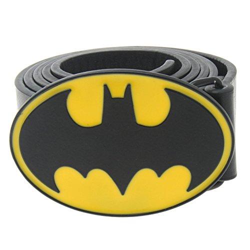 DC Comics Unisex Print Belt Black / Yellow L