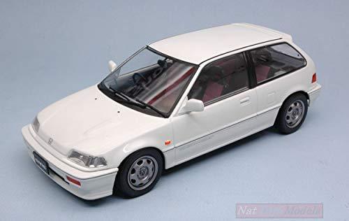 Triple 9 T9-1800104 Honda Civic EF-3 SI 1987 White 1:18 MODELLINO DIE CAST Model kompatibel mit