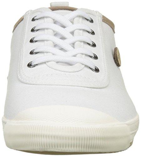 Faguo - Oak, Basse Unisex - Adulto Blanc (White/Beige)
