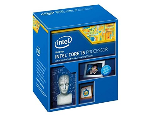 Intel Core i5-4690K Box - Procesador (3.5 GHz, zócalo LGA 1150, Quad-Core), gris