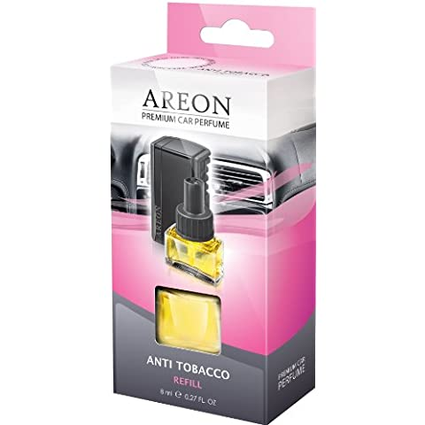 REFILL air freshener Areon CAR perfume ANTI TOBACCO