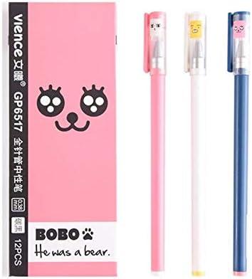 SunnyGod cadeau pour les enfants 12 Pcs Pcs Pcs Noir 0.38mm Acier Inoxydable Nib Signature Stylo | Faible Coût  0b692b