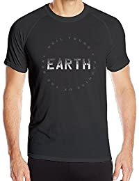 T&Tat Men's Neil Young EARTH Tour 2016 Logo Quick Dry Athletic Tshirt