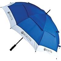 Beretta - Paraguas deportivo, color blanco y azul