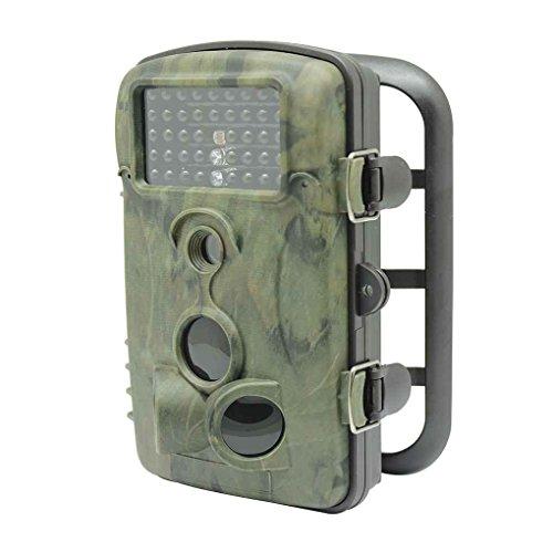 Miaomiaogo E5 Camouflage Chasse Scoutisme Caméra Anti-voleur Spy Moniteur Cam Caméscope 12MP...