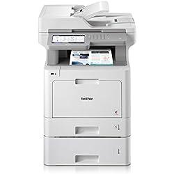 Brother MFC de l9570cdwt Profesional de 4en 1Láser de Color de Dispositivo multifunción (Impresora, escáner, fotocopiadora, fax, 2400x 600dpi) Blanco/Gris