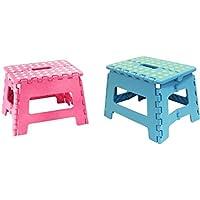 JMS Set of Pink & Blue Small Schritt stool-perfect für kids-150kg capacity-22cm Fotos nur preisvergleich bei kinderzimmerdekopreise.eu