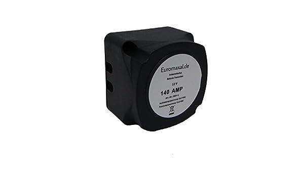 Ladestromverteiler Trennrelais 12 Volt 140 Ampere für PKW Wohnmobil Boot